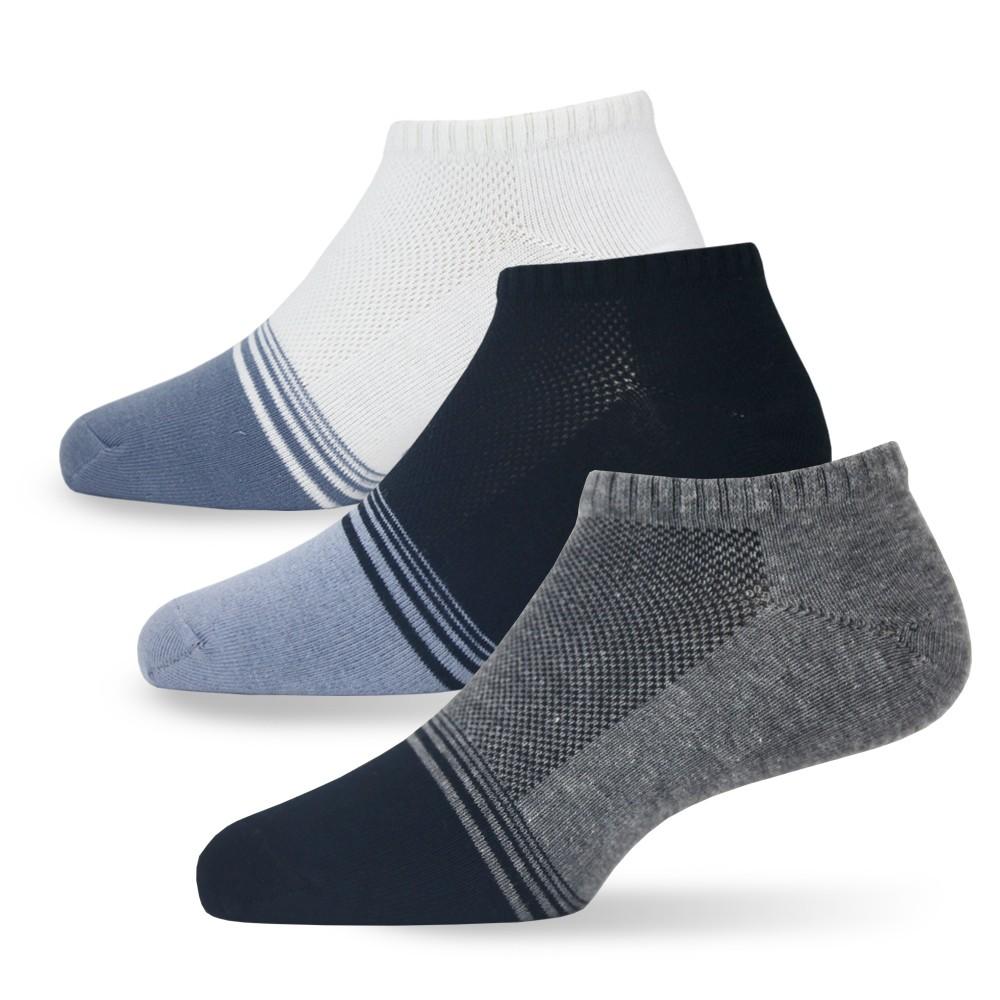【老船長】(902-23)Ag奈米銀除臭氣墊船型襪-1雙入(毛巾底)