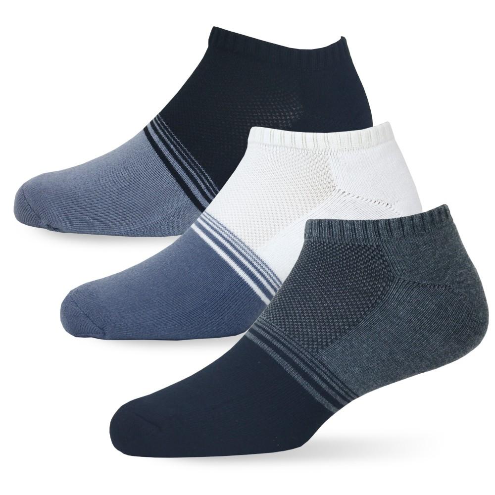 【老船長】(902-3)Ag奈米銀除臭船型襪-1雙入(男款薄襪加大)