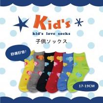 【kid】(A140-19)台灣製棉質童襪-6雙入