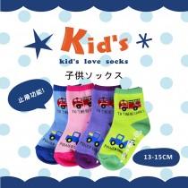 【kid】(2012-13)台灣製棉質止滑童襪-6雙入