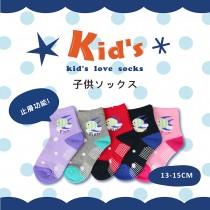 【kid】(A137-15)台灣製棉質止滑童襪-6雙入