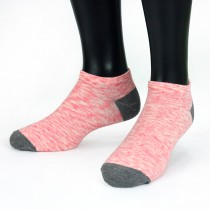 【老船長】(9805)萊卡纖維抗菌消臭船型襪薄款-粉色-6雙入