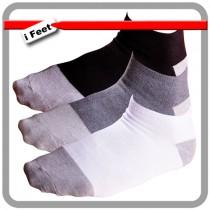 【老船長】(1105)奈米竹炭細針薄款船型襪-6雙入
