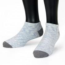 【老船長】(9805)萊卡纖維抗菌消臭船型襪薄款-藍色-6雙入