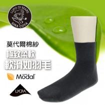 【老船長】(9703)莫代爾寬口無痕棉襪-1雙入