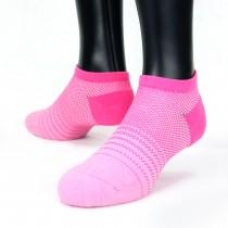 【老船長】(8462)EOT科技不會臭的萊卡抗菌足弓氣墊船型襪-1雙入-粉色22-24CM