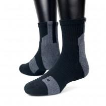 【IFEET】EOT科技不會臭的中統運動襪(K132-1)-1雙入-灰色